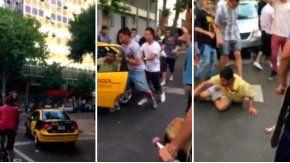 Skaters persiguieron y golpearon a un ladrón en Mendoza.