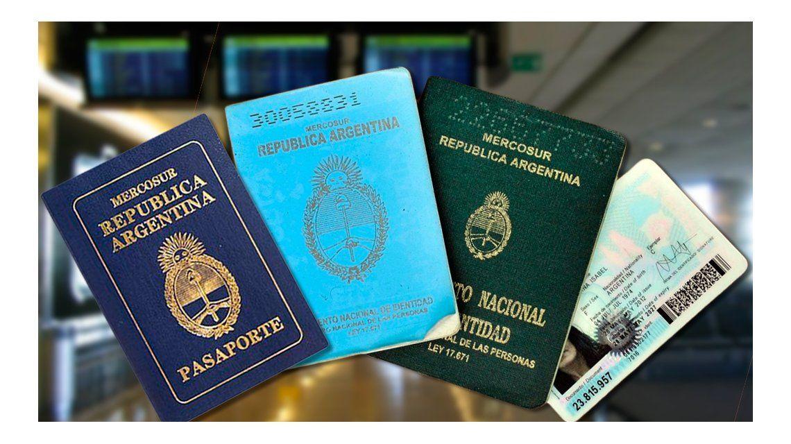 Cambios para viajar: ¿qué documentos servirán para salir del país desde hoy?