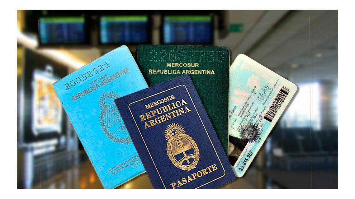 Cambios en la documentación necesaria para viajar al exterior.