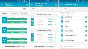 Trenes en Directo, una app para saber el estado de los trenes