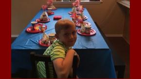 El nene esperó durante horas a sus compañeros, que nunca llegaron