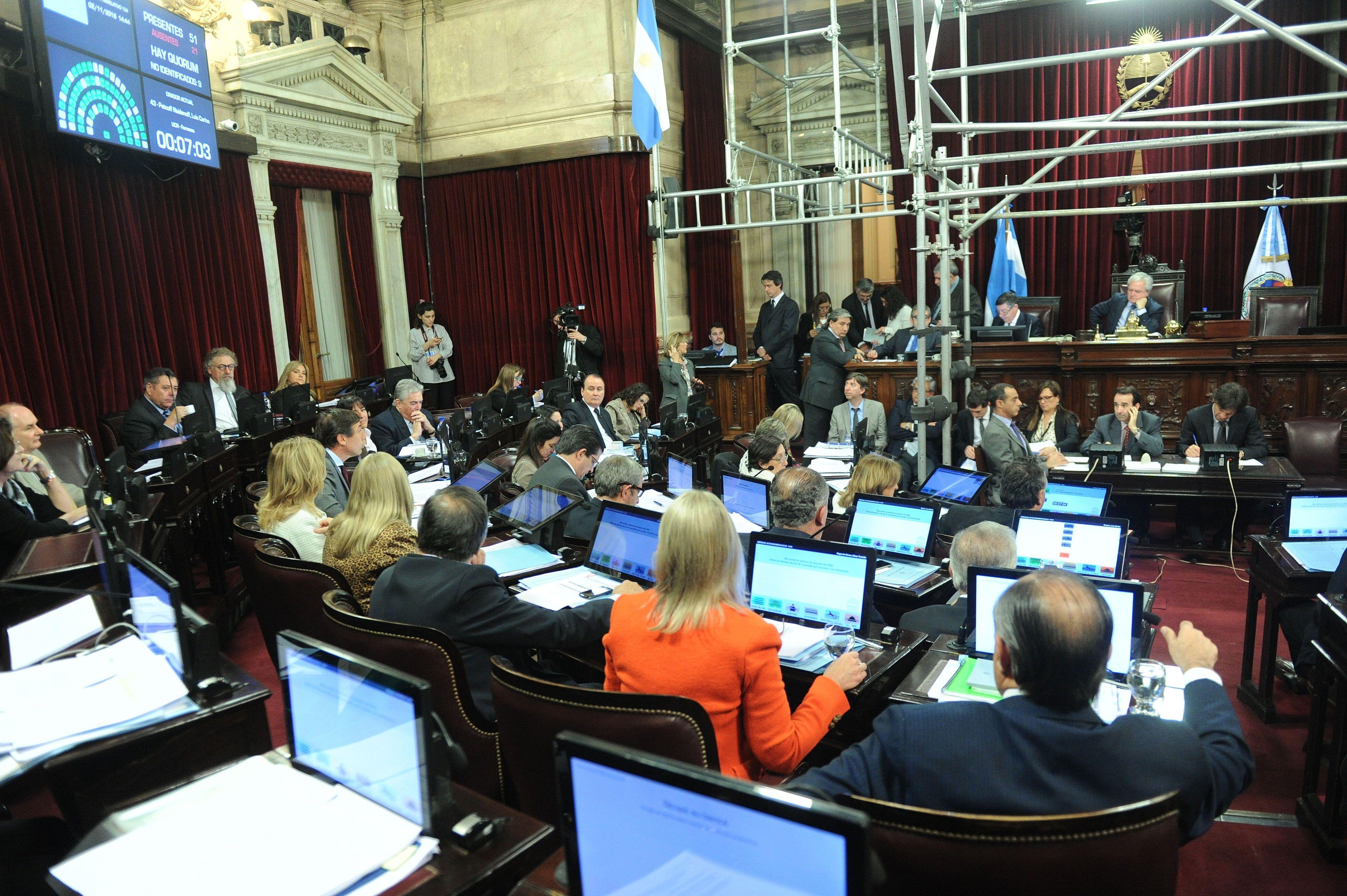 El Senado aprobó la obligatoriedad de los debates presidenciales.