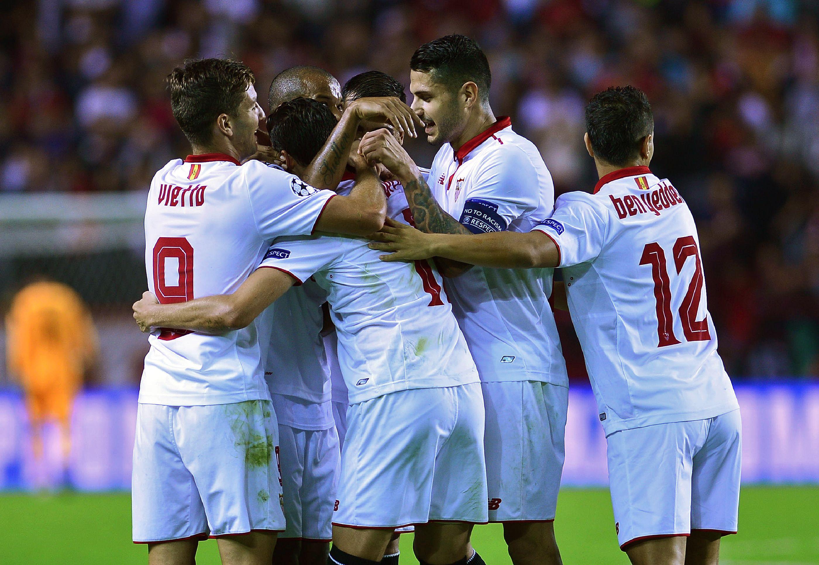 Sevilla de España goleó al Dinamo Zagreb de Croacia por 4 a 0 por la Champions League