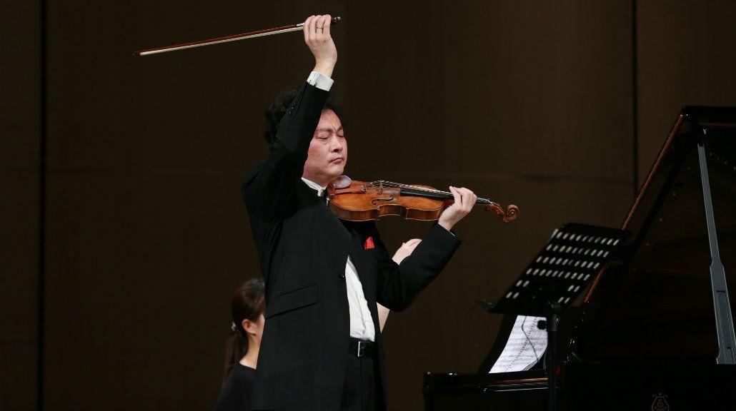 El prestigioso violinista chino