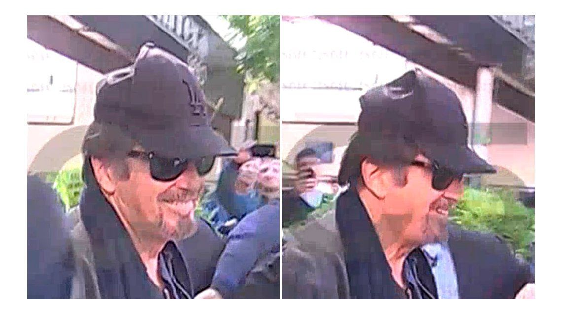 La vida de Al Pacino en Buenos Aires.