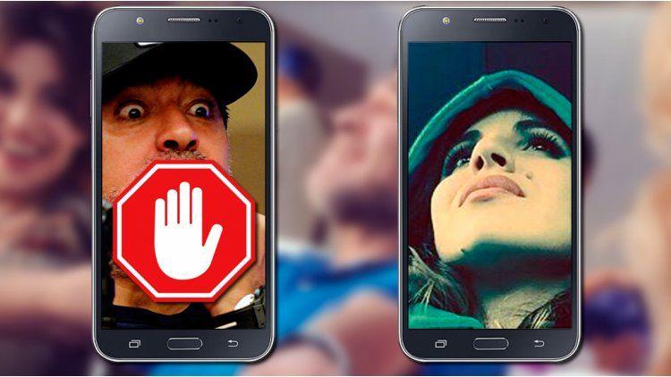 Gianinna Maradona bloqueó a Diego del teléfono.