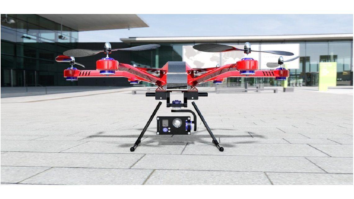 Jóvenes argentinos y paraguayos crean un drone