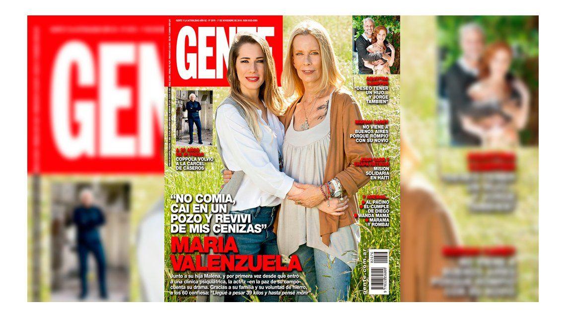 La actriz posó junto a su hija Malena