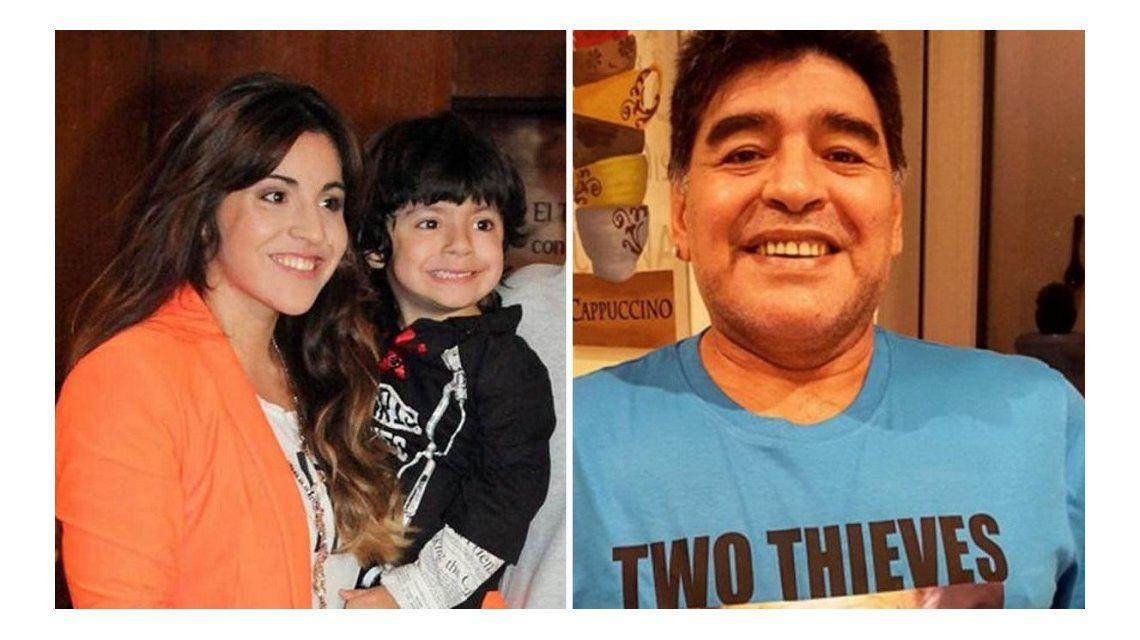 El reclamo de Gianinna a Maradona en su cumpleaños
