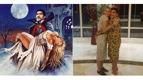 Rocío festejó el cumpleaños de Maradona con divertidas fotos de Halloween