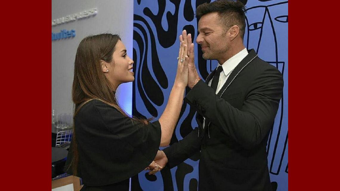 Ricky Martin y Lali Espósito