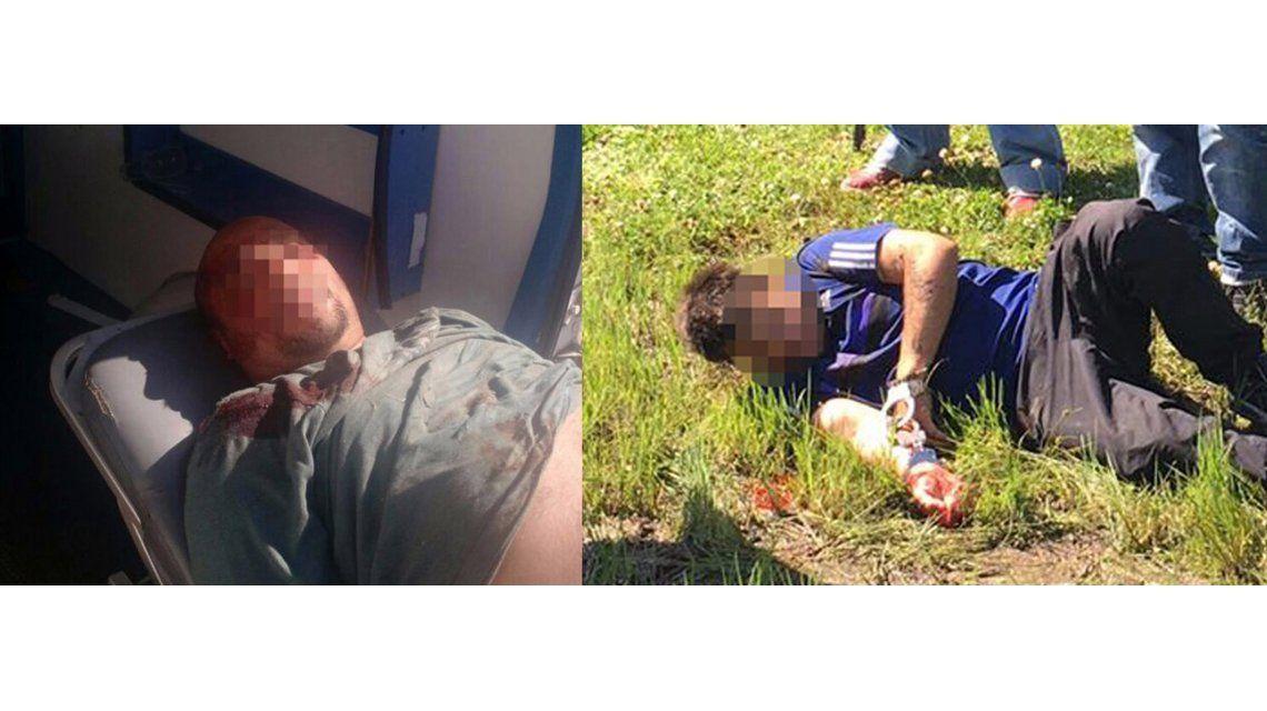 Fotos y videos del tiroteo en el que cayó la banda del millón