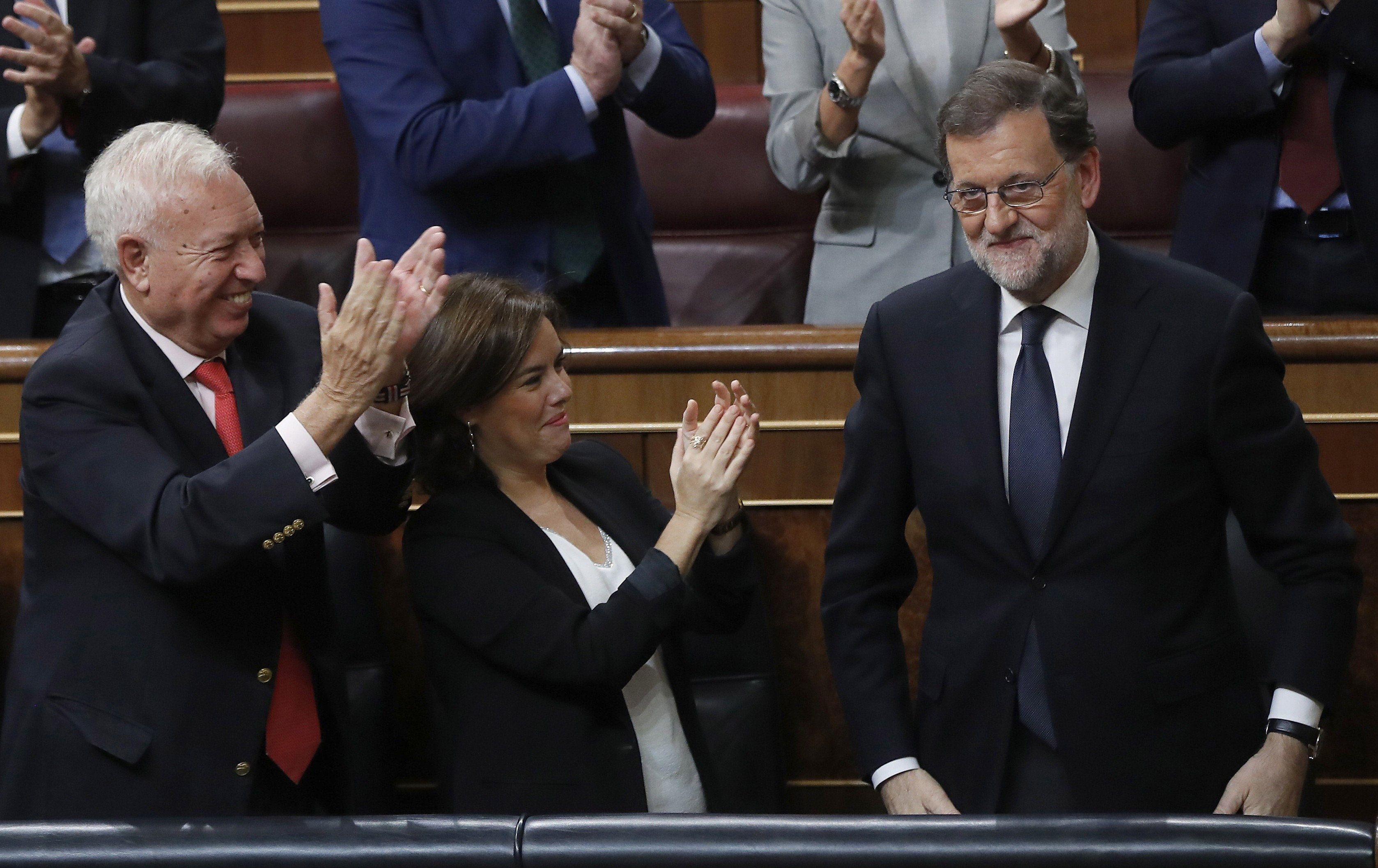 Rajoy fue reelecto presidente del gobierno español