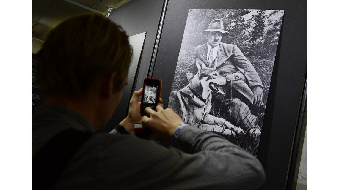 Réplica del búnker en el que murió Hitler en Berlín