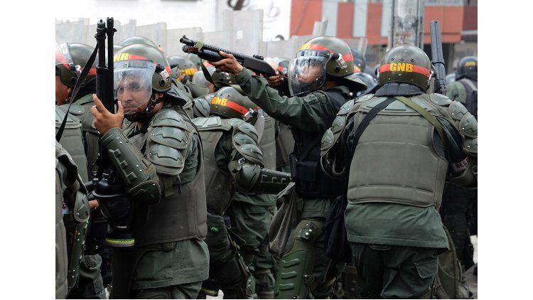 Violentos incidentes en la Toma de Venezuela