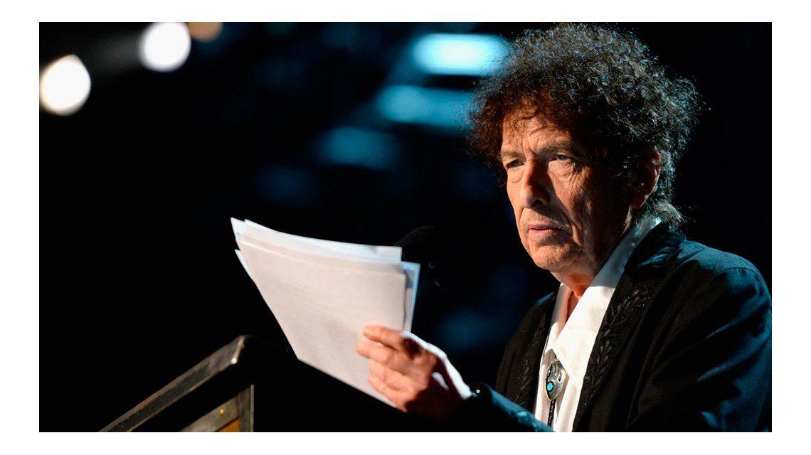 Se conoció el discurso de Bob Dylan por el premio Nobel.