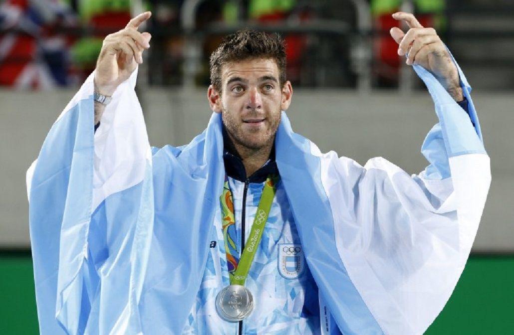 Del Potro brilló en los Juegos de Río