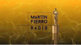 Se entregan los premios Martín Fierro de radio.