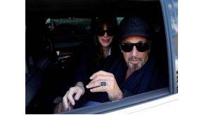 Al Pacino, en Buenos Aires.