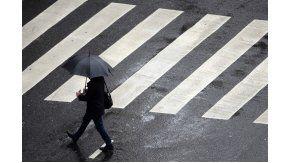 Lluvia en la ciudad de Buenos Aires
