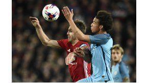 Manchester United enfrenta al City por los cuartos de final de la Copa de la Liga