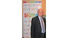 Roberto Gerardo Chwat, directivo de la editorial Sigmar