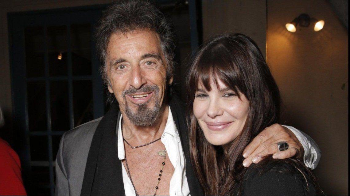 Al Pacino y Lucila Polak.