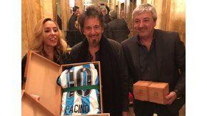 Al Pacino se hizo socio de Racing