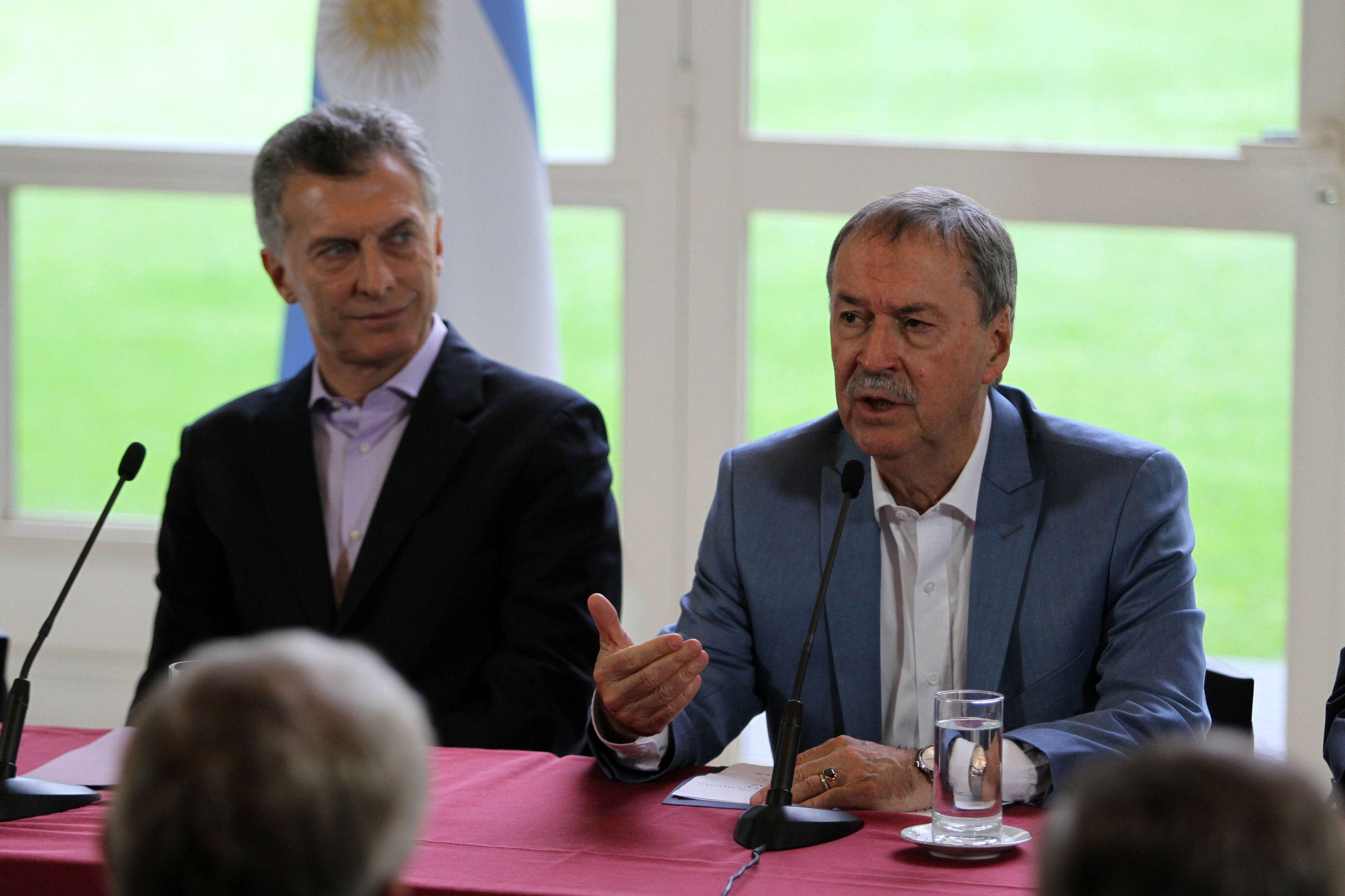 Macri volvió a cargar contra los sindicatos por adoptar medidas de fuerza