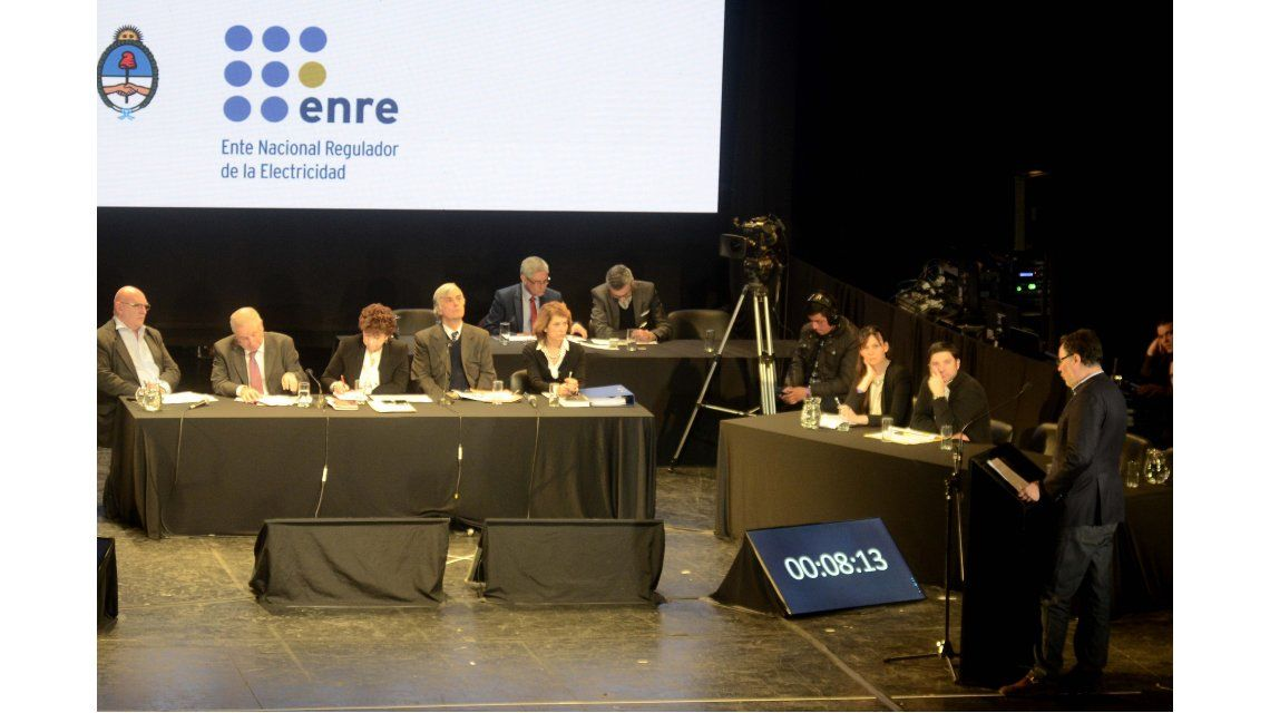 Audiencia pública por aumento de la tarifa de electricidad