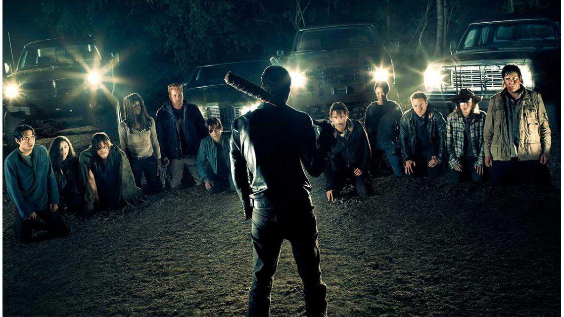 Escena de The Walking Dead en el estreno de su séptima temporada