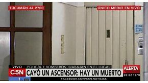Un hombre murió al caer un ascensor en un edificio porteño.