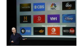 Tim Cook presentó Apple TV