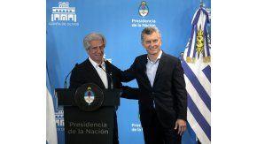 Mauricio Macri recibió a su par de Uruguay en la Quinta de Olivos