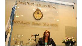 Alejandra Gils Carbó, titular del Ministerio Público Fiscal