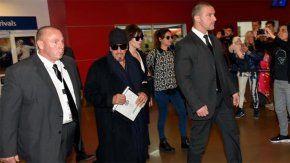 Llegó Al Pacino a la Argentina.