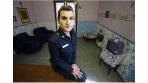 Malena Salomé, la primera oficial trans de la Policía Bonaerense. Crédito: diario El Día