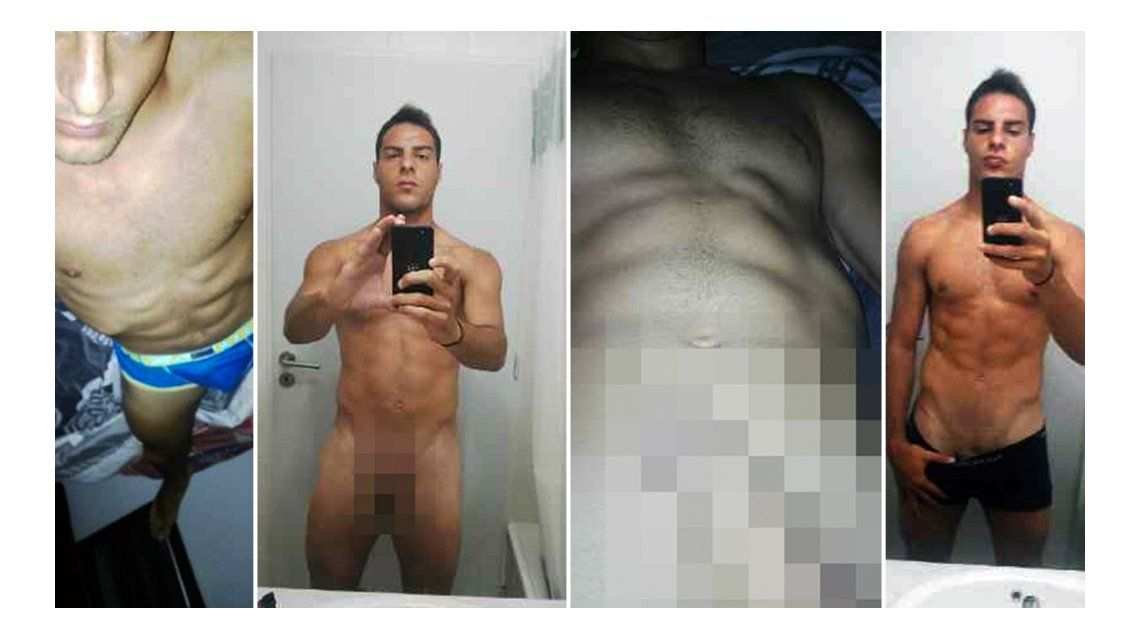 Filtran fotos de Leandro Desábato totalmente desnudo
