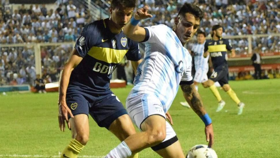 Zampedri anotó el primer gol para los tucumanos
