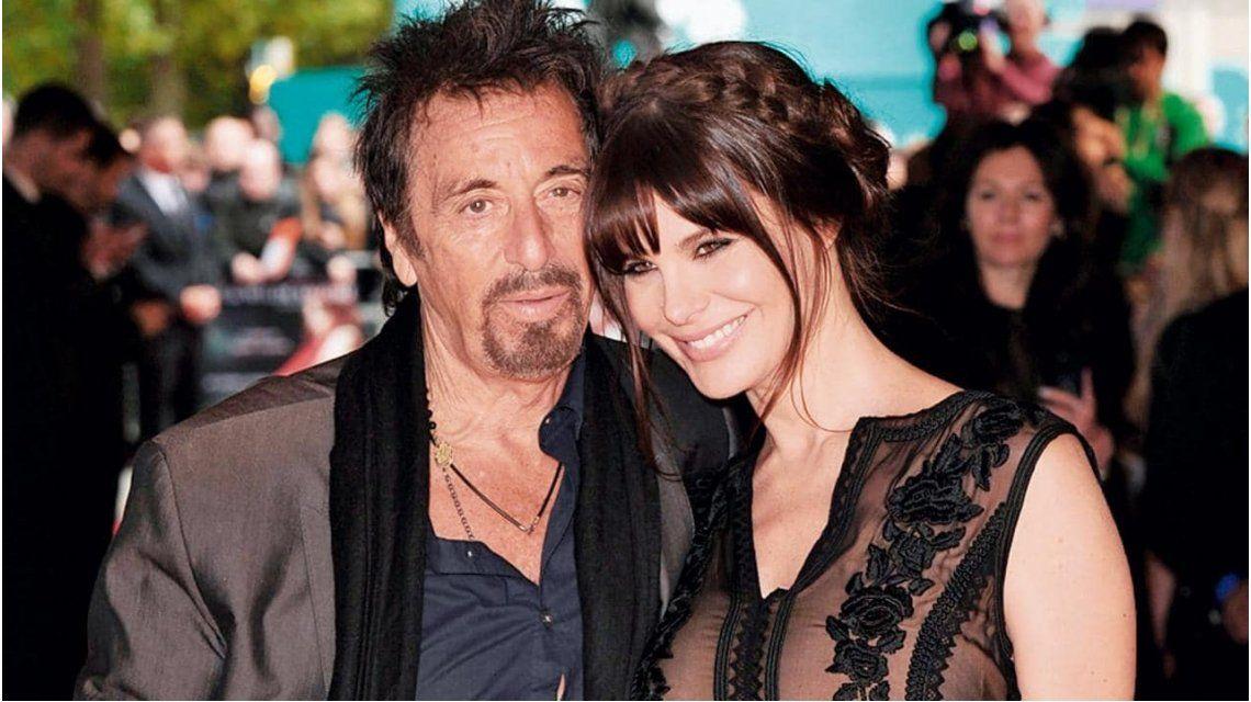 Al Pacino junto a Lucía Polak.