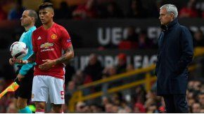 Marcos Rojo, en la mira de Mourinho