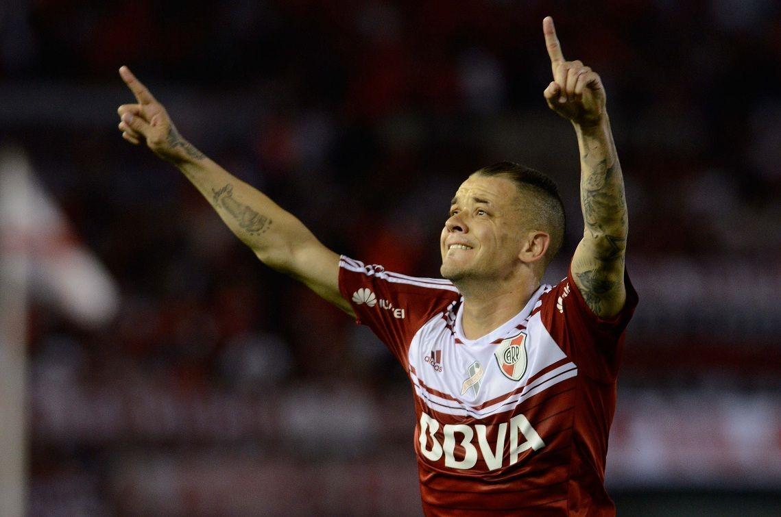 DAlessandro marcó el gol para River ante Atlético Rafaela