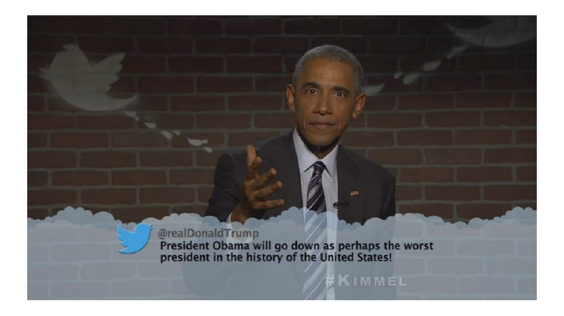 Obama le contestó a Donald Trump con los tapones de punta