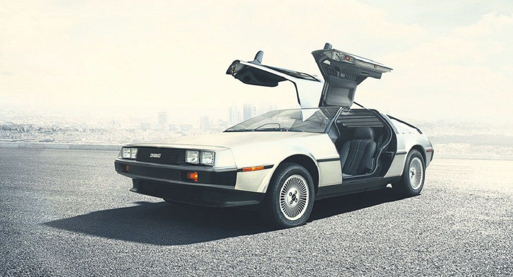 El auto de Volver al Futuro
