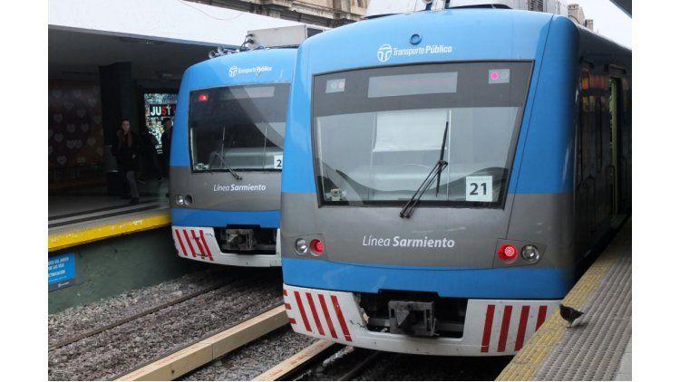 Tren Sarmiento.