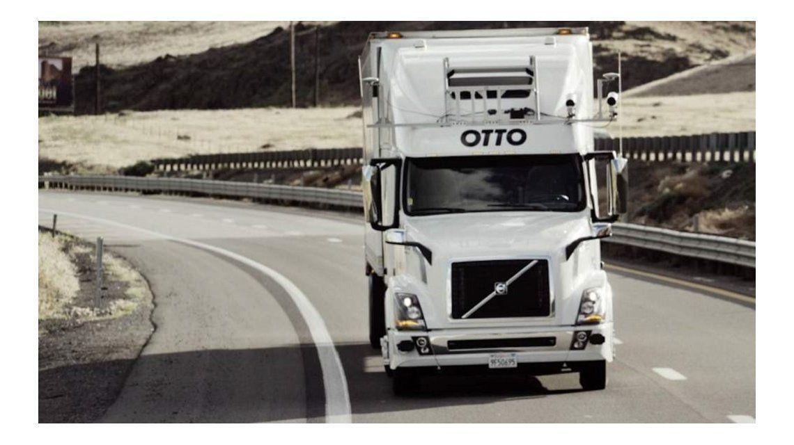 Un camión de Uber recorrió casi 200km sin conductor