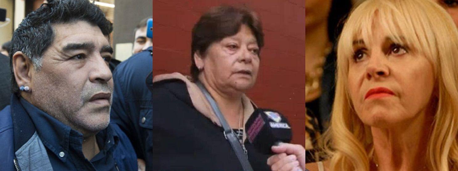 La hermana de Diego Maradona rompió el silencio.