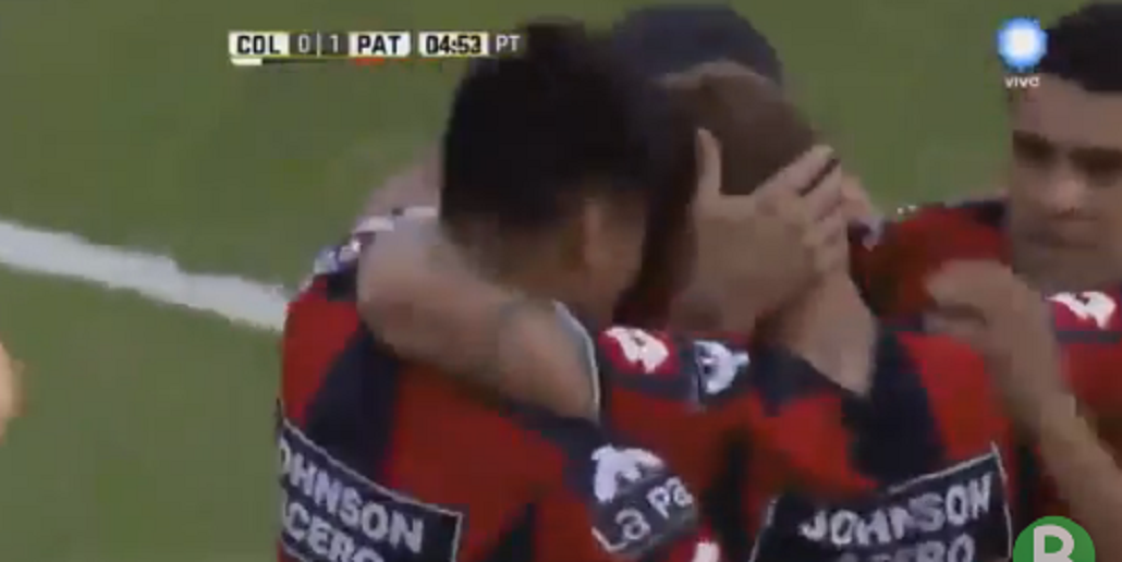 Fernando Telechea anotó el gol del triunfo de Patronato sobre Colón en Santa Fe