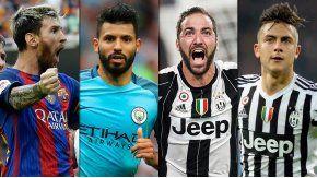 Los cuatro argentinos nominados