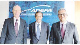 Luis Ureta Sáenz Peña, titular del Grupo PSA Argentina, fue electo presidente de la ADEFA.